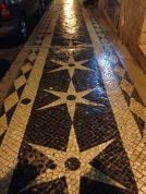 The streets are beautifully tiled with all sorts of designs. The streets aren't the best for anything but a flat, or a sneaker, as the hills and tiles give your calves a run for your money.