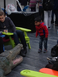 Guys?!?! A Croc out of the Thames?!?
