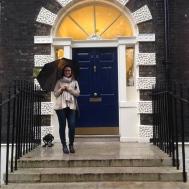 Couldn't resist this door in Bloomsbury.