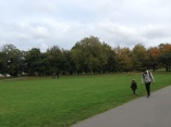 Nothing like a stroll in the park while we wander up to the Royal Observatory. See the leaves changing in the back?