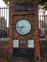 Greenwich Mean Time- where time starts?!? The museum includes such a thorough history about the accurate mapping of longitude while at sea.