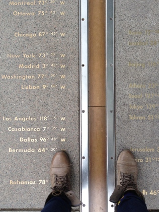 The Prime Meridian! I see you NYC and Los Angeles!