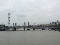 View from the Waterloo Bridge.