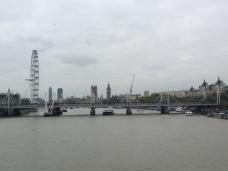 View from the Waterloo Bridge.