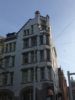 Neat building near the Anne Frank House.