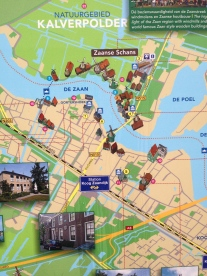Zaanse Schans map.