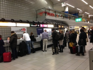British Airways customer service for two hours.