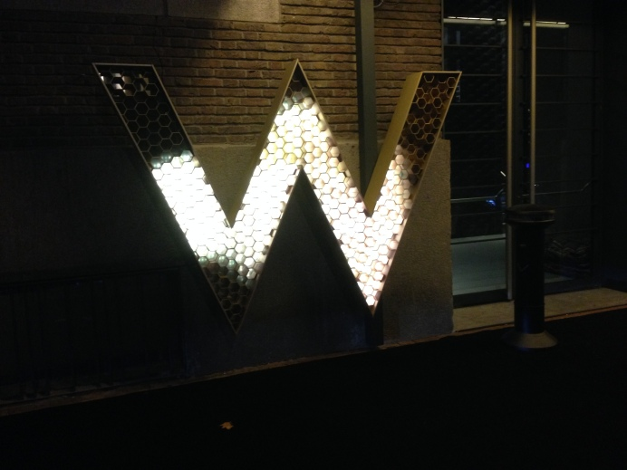 One night at The W Hotel.