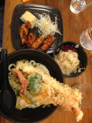 Tempura Udon in Paris' mini-Japantown. Sanukiya kicked some major butt.