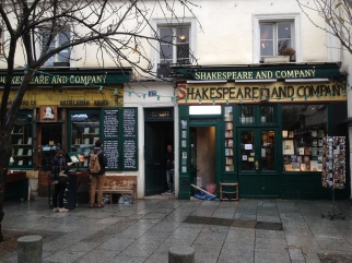 We had fun meandering through the Shakespeare and Co. bookstore, and even got the official stamp in a purchased book.