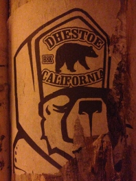 Heyooo, Cali Love! I believe Dhestoe is the artist as my google search for dhestoe didn't reveal this to mean anything in Portuguese.