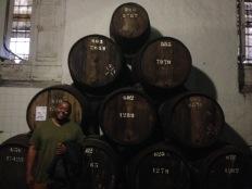 Tawny barrels.