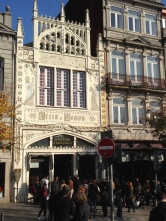 Lello Bookshop. Rumor has it that J.K. Rowling's inspiration to write Harry Potter has begun in Porto, particularly at this library.