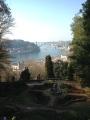 View from the garden near Palacio de Cristal.