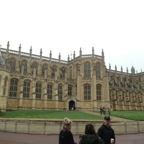 The chapel at Windsor Castle is supposed to be amazing with its stained glass, but it's not open to the public on Sundays since they use it for mass.