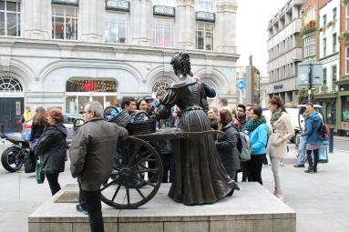 Molly Malone- In Dublin's fair city, where the girls are so pretty