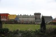 Dublin Castle gardens