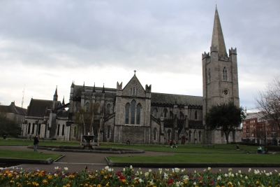 St. Patrick's after the Evensong