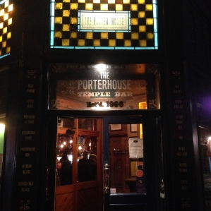We'll go back to the Porterhouse for sure!