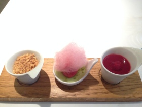 Raspberry dessert party