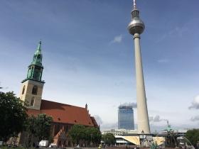 Alexanderplatz walking toward the DDR