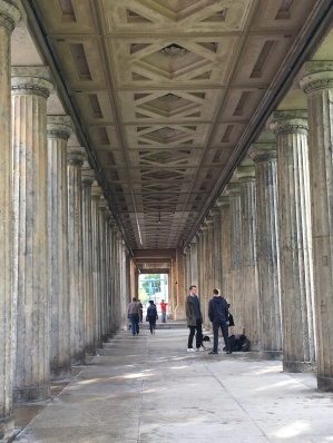Gorgeous columns welcoming us