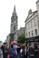 Find your Sandeman Tour group by spotting the red umbrella.