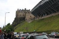 The castle and the Fringe stadium