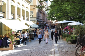 Gamla Stan streets are so lovely