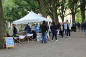 Weekend flea market