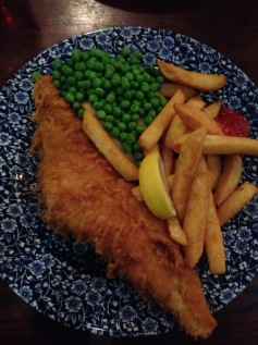 Best fish and chips I've had since being across the pond. But it's in Southampton- too far for a meal.