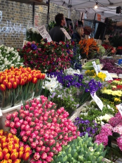 Columbia Flower Market on Sundays