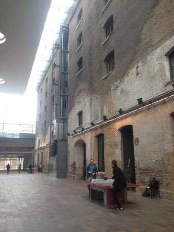 Exploring the Design Junction at Granary Square for my bday