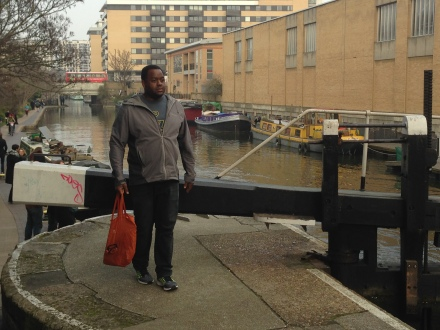 Regents Canal walk home from Broadway market