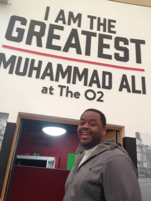 The exhibit was absolutely amazing, and this was when Ali was still with us.