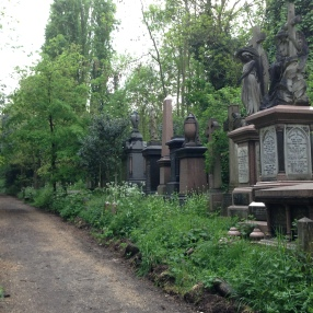 Found Abney Park and Cemetery on a walk through the Stoke Newington neighborhood