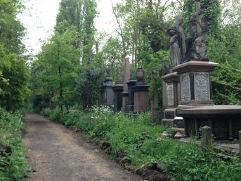 Found Abney Park and Cemetery on a walk through the Stoke Newington neighborhood