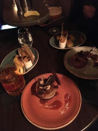 Cocktails and Dessert bar. Yum!