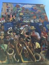 Mural near Dalston street market