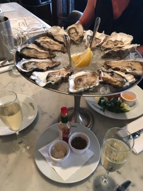 Being able to hit up a 3:30pm oyster and champers happy hour with colleagues