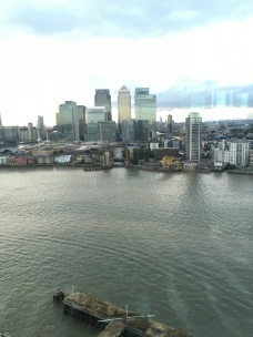 We moved office to North Greenwich