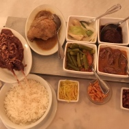 Indonesian lunch for one!