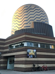 The Planetarium. We didn't have enough time to go in but it looked so neat.
