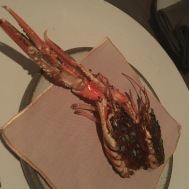 Langoustine part two: fried in butter!