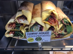 Egg wrap- whole new meaning!