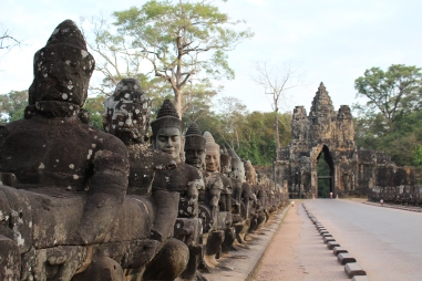Entrance to Bayon Temple