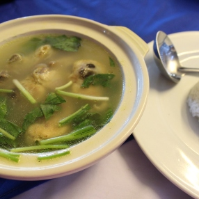 Sour chicken soup!