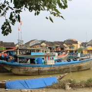 River boats in Hoi An