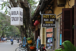 Hoi An working on its international flair.