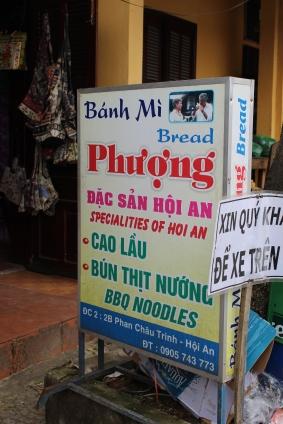 Our first bahn my/mi in Vietnam!